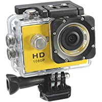 Sport Camera - TOOGOO(R) sj6000 YELLOW 2.0 LCD HD 1080p Sports Camera waterproof Camera