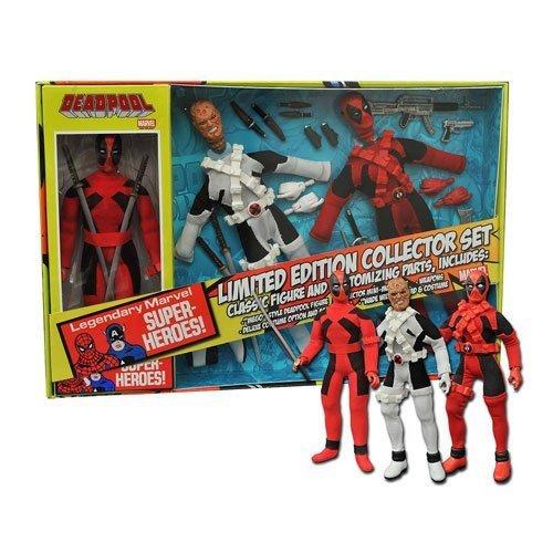 Deadpool Limited Edition 8-Inch Retro Action Figure Set