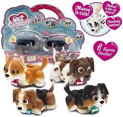 Pet Parade - Cachorros de juguete, modelos aleatorios (Giochi Preziosi PTD01111): Amazon.es: Juguetes y juegos