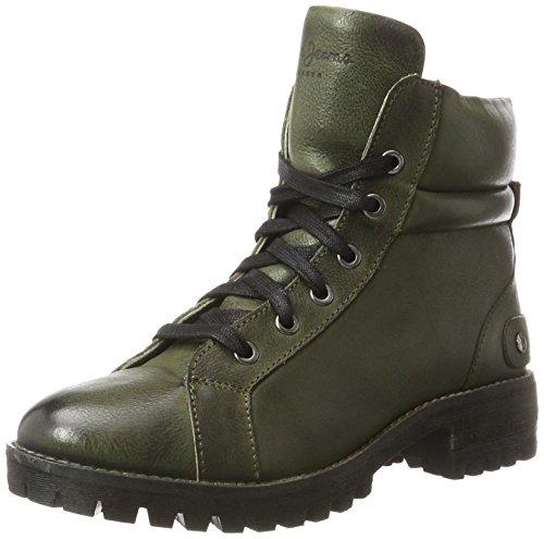Pepe Jeans Hellen Laces, Bottes Femme Vert (Military Green)