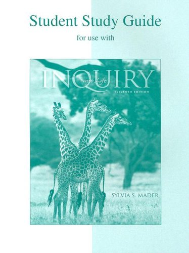 Student Study Guide t/a Inquiry Into Life