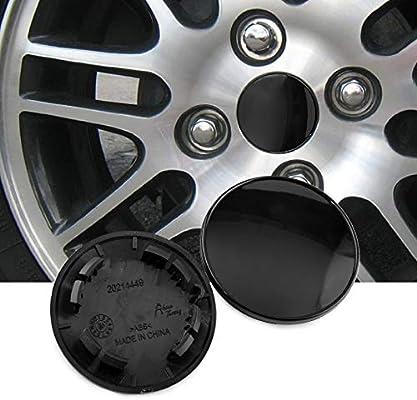 RTRHINOTUNING 54mm 49mm Carbon Fiber Grain Car Wheel Center Hub Caps Set of 4 for 1985-1996 Nissan Z
