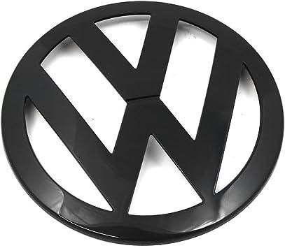 Volkswagen 7h0853601041 Emblem Logo Vorn Kühlergrill Logo Zeichen Schwarz Auto
