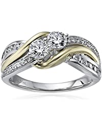 Amazon White Gold Wedding Bands 51 Cool k Yellow And White