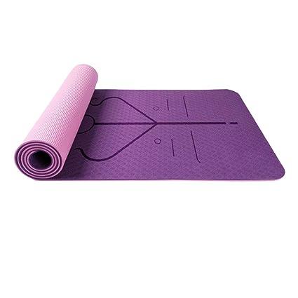 Amazon.com : asdfg Yoga mat, Fitness mats Exercise mat Non ...