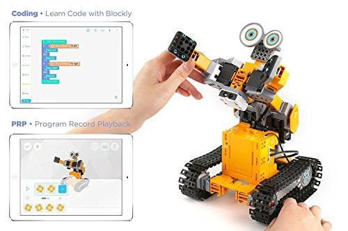 UBTECH Jimu Robot iPhone Robot TankBot Kit App Enabled Stem Learning . Works with most iPhones/iPads. .