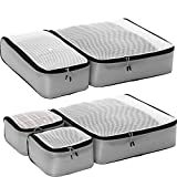 eBags Ultralight Packing Cubes - Super Packer 5pc Set (Grey)