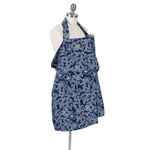 Bebe au Lait Premium Cotton Nursing Cover, (Au Lait Cotton)