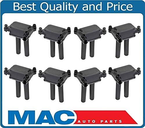 Mac Auto Parts 157639 (8) 100% New Ignition Coil for 2005-2014 Chrysler 300 SRT8 5.7L 6.1L 6.4L