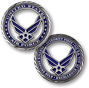 Core Values - U.S. Air Force Challenge Coin… by hei dian
