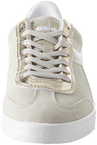 Chiaro Chaussures Vlz WMN Grigio Original de B Diadora Femme Gymnastique Gris PqvIOx