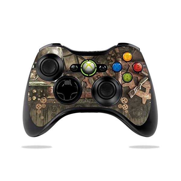 MightySkins Skin Compatible with Microsoft Xbox 360 Controller - Steam Punk Room | Protective, Durable, and Unique Vinyl Decal wrap Cover | Easy to Apply, Remove, and Change Styles | Made in The USA 3