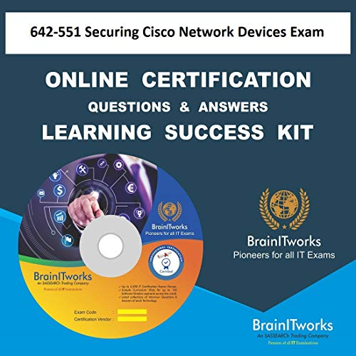 642-551 Securing Cisco Network Devices ExamCertification Online Video Learning Made ()
