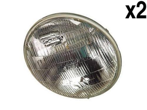 BMW (70-93) Halogen Headlamp (set 2) Hi/Low Beam (outer)
