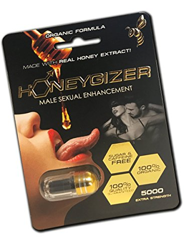 NEW ORGANIC HONEYGIZER ALL NATURAL MALE ENHANCEMENT PILLS (5) by FunThingsForMe