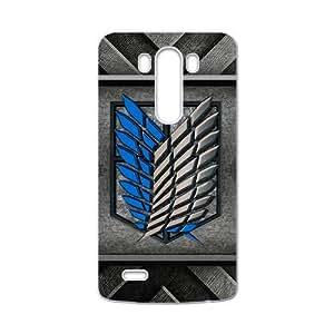 Attack On Titan Fashion Comstom Plastic case cover For LG G3