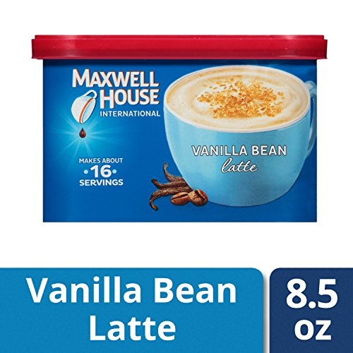 Maxwell House International Cafe Vanilla Bean Latte Instant Coffee (8.5 oz Tin) ()