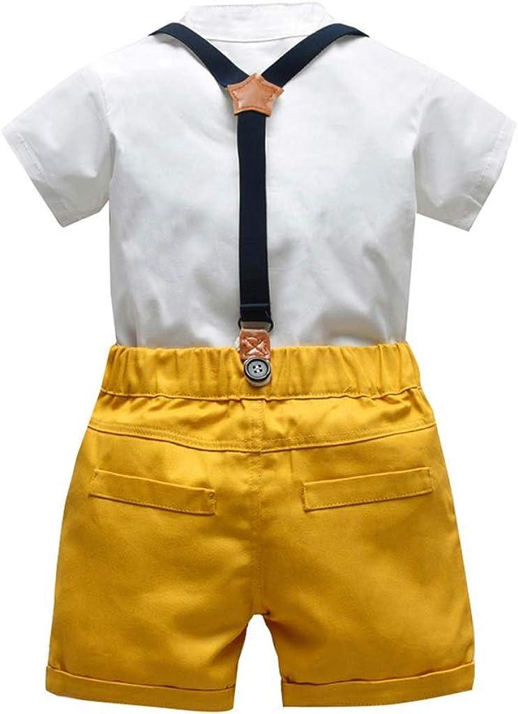 Noeuds Papillon et Culottes Unies pour b/éb/és gar/çons et Garcons 3Mois-3Ans erthome Tenues de t-Shirts