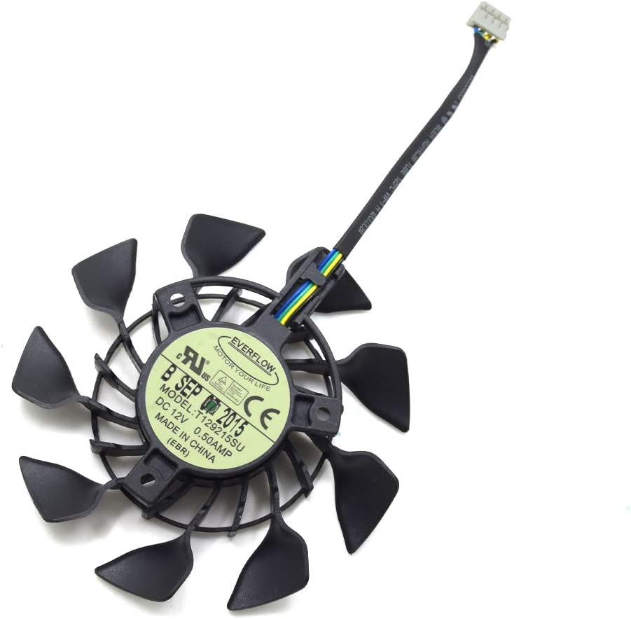 inRobert 85mm Cooling Fan Replacement for ASUS GTX 950/960/970 Mini Video Card