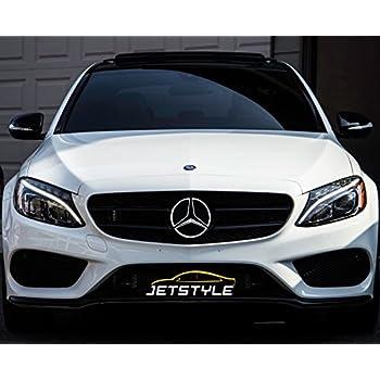 JetStyle LED Emblem for Mercedes Benz 2011-2018, Front Car Grille Badge, on
