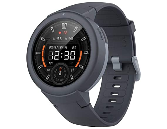 Amazfit Verge Lite - Reloj Inteligente con Bluetooth, Color Gris