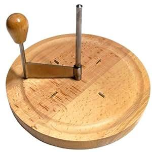 Compra kesper 68620 cortador de queso cortadores de queso acero inoxidable madera madera - Cortador de queso ...