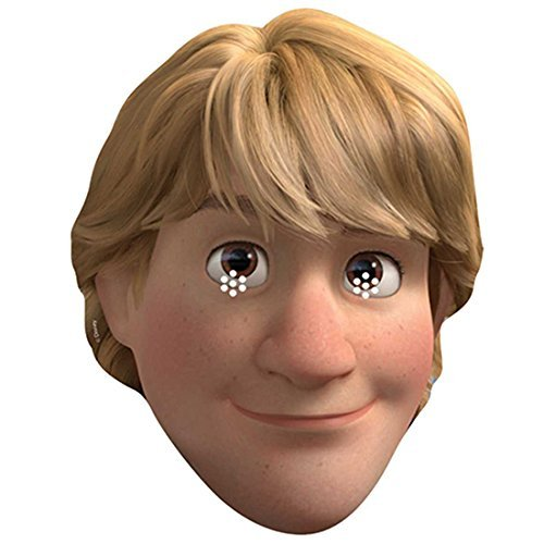 Kristoff Frozen Costume Uk (Official Disney Kristoff from Frozen Card Face Mask)