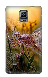 Design Animal Dragonfly Opus Insect Morning Dew Web Leaf Animal Hard For Case Iphone 6Plus 5.5inch Cover(gift For Lovers)