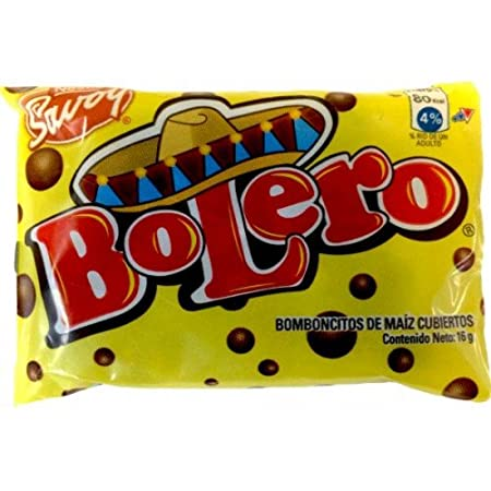 Amazon.com : BOLERO CHOCOLATE NESTLE 16 grs each (Pack of 5)  : Grocery & Gourmet Food
