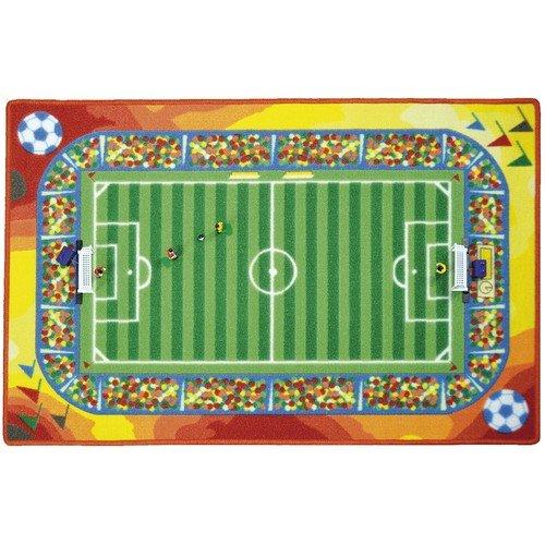 Eduplay Spielteppich Tippkick, inklusive 2 Tore, 4 Spieler, und 2 Bälle