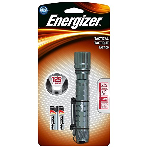 Energizer Tactical Handheld Flashlight Silver