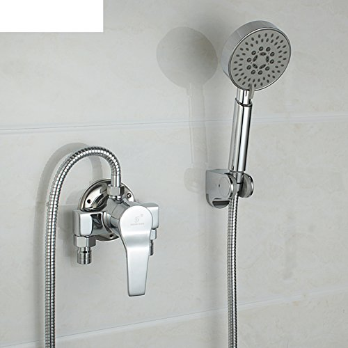 - Mixing valve copper shower faucet hot and cold/ exposed shower set-B