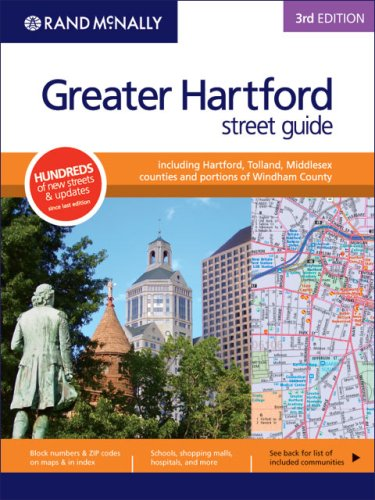 Rand McNally Greater Hartford Street Guide: Including Hartford, Tolland, Middlesex Counties and POrtions of Windham County, 3rd Edition - Tolland County Map