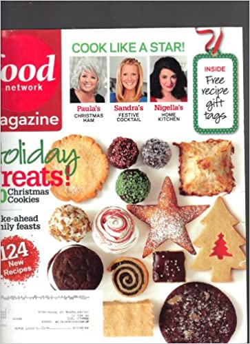 Food network magazine december 2009 cook like a star make ahead food network magazine december 2009 cook like a star make ahead family feasts holiday treats 50 christmas cookies amazon books forumfinder Image collections