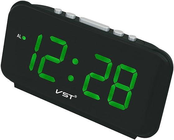 Sharplace Reloj Despertador de Mesa Digital con 1.8 Pulgadas LED ...