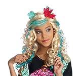 Rubies Costume Co Monster High Lagoona Blue Girls Wig