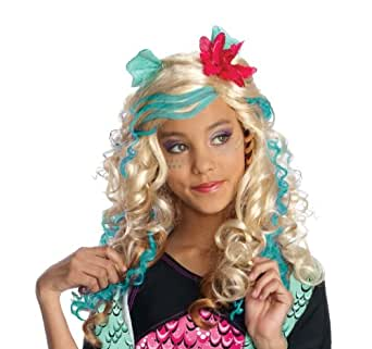 Monster High Child's Lagoona Blue Costume Wig