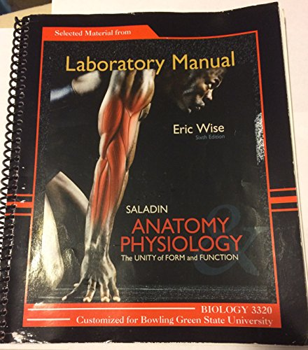Saladin anatomy and physiology 6th edition