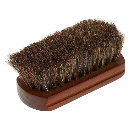 Wood Handle Natural Horse Hair Mustache Beard Brush Facial Beard Cleaning Men's Shaving Brush Barber Salon