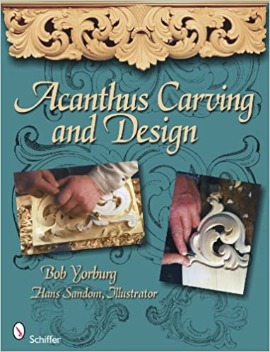 Book Acanthus Carving