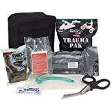 Ever Ready First Aid Meditac Tactical Trauma IFAK Kit with Trauma Pack Quickclot and Israeli Bandage in Molle Pouch