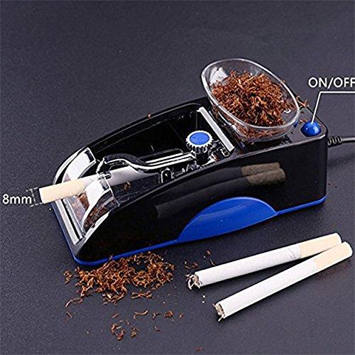 hibron® Elektrische Maschine entubadora von Zigarren Rohre Stopfmaschine Tabak Notebook hohe Qualität 58003 AZUL