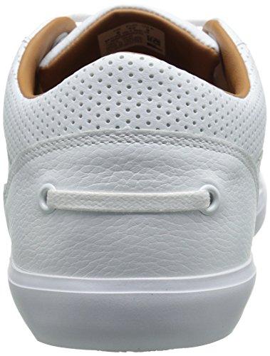 Mens Lacoste Grad Vulc Sneaker Moda Bianco / Bianco