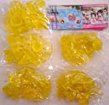 Movic Love Hina water line figure 1 orange clear all five