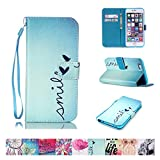 5s cases jelly - iPhone SE Case, iPhone 5/5S Case, Firefish Kickstand Flip [Card Slots] Wallet Cover Double Layer Bumper Shell with Magnetic Closure Strap Protective Case for Apple iPhone 5/5S SE