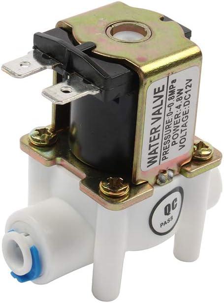 ELECTRONIC-MEI NC Electroválvula magnética DC magnética 12V ...