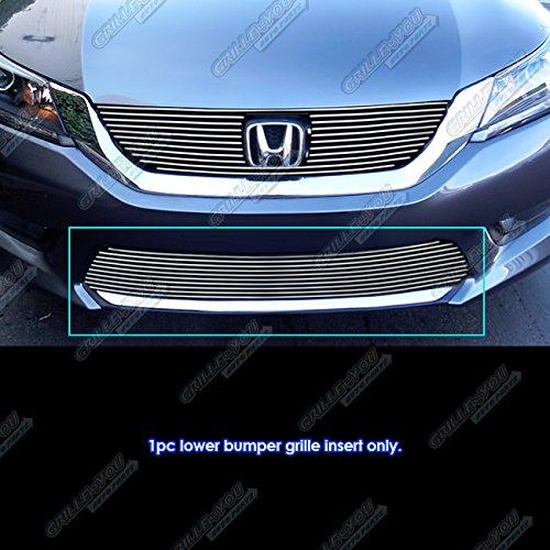 - Fits 2013-2015 Honda Accord Sedan Lower Bumper Billet Grille Insert #H65917A