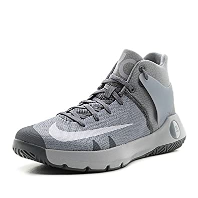 Nike KD Trey 5 IV kevin durant basketball shoes wolf grey/white/cool grey  NEW 844571-011 size 9.5
