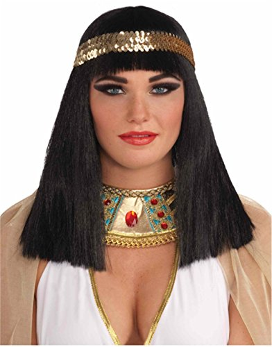 Forum Novelties Cleopatra Wig with (Stupid Ideas For Halloween Costumes)