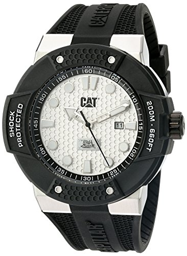 CAT WATCHES Men's SE14121212 Shockmaster Analog Display Quartz Black Watch by CAT WATCHES